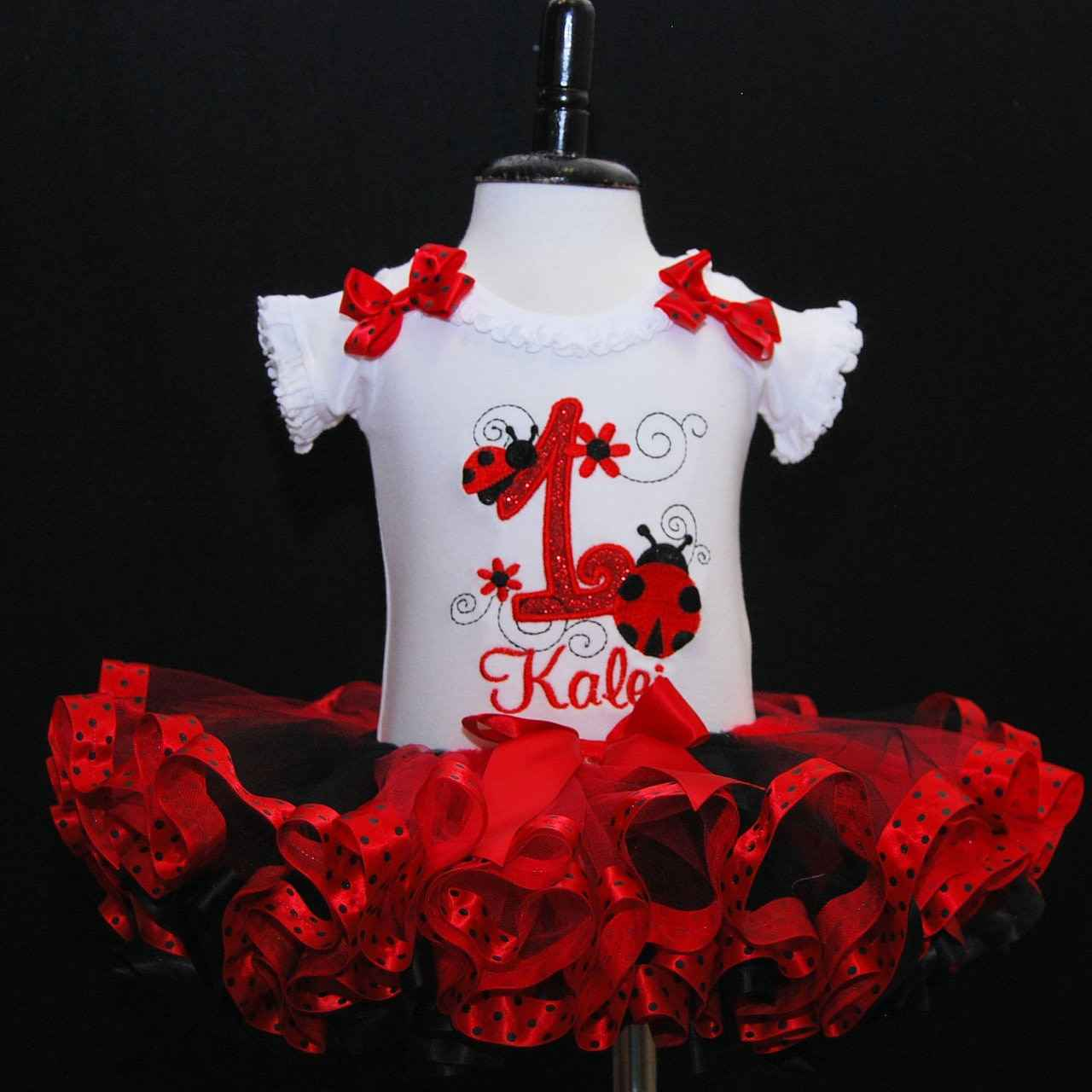 Ladybug 1st birthday girl outfit baby girl 1st birthday outfit perfect cake smash outfit