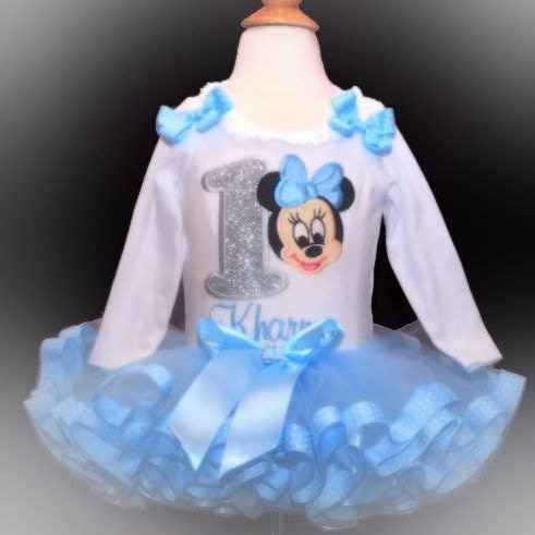 Minnie Mouse 1st BirthdayTutu Outfit, Babys 1st birthday tutu dress, Minnie Mouse tutu outfit, 1st birthday girl, cake smash outfit, tutu