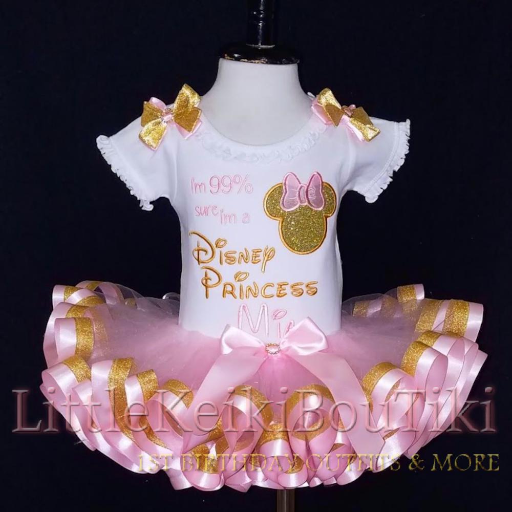 99% sure I'm a Disney Princess Minnie Mouse vacation tutu set