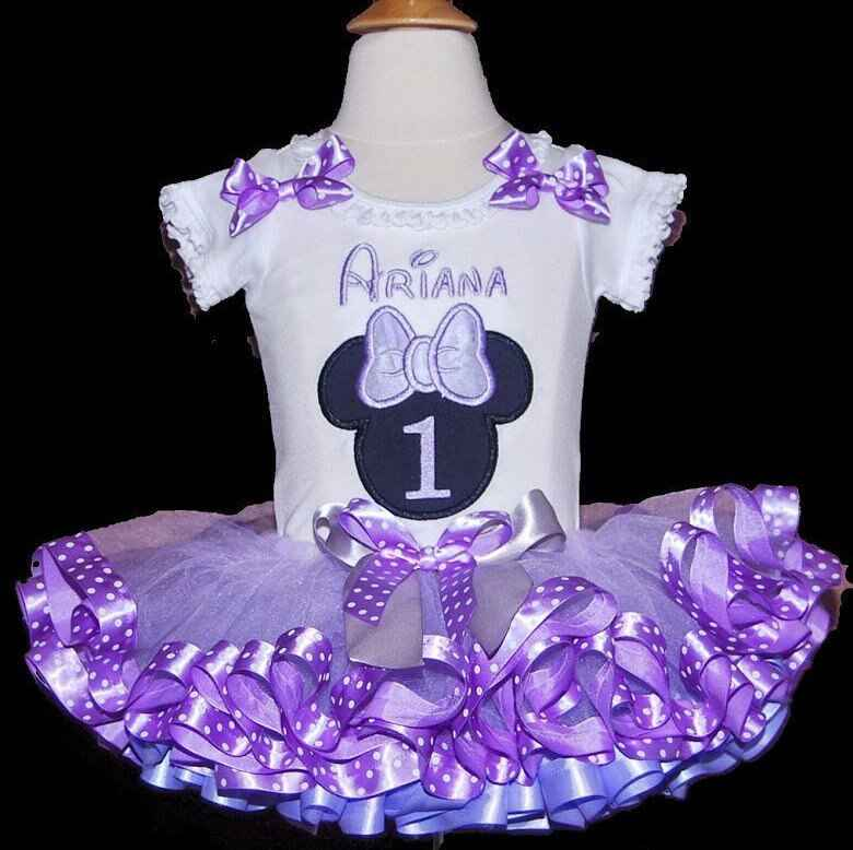 Minnie Mouse Birthday Outfit for First Birthday, minnie mouse 1st birthday outfit