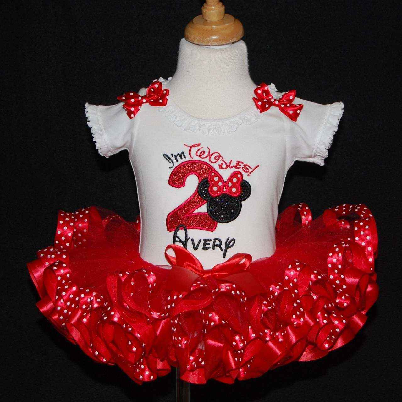 minnie mouse birthday outfit oh twodles Im two minnie mouse 2nd birthday minnie mouse outfit oh toodles red minnie mouse Im twodles dress
