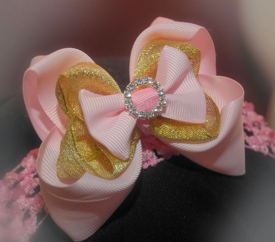Pink and Gold 1st birthday girl outfit, 4 piece set,  Princess Birthday , Tutu Outfit