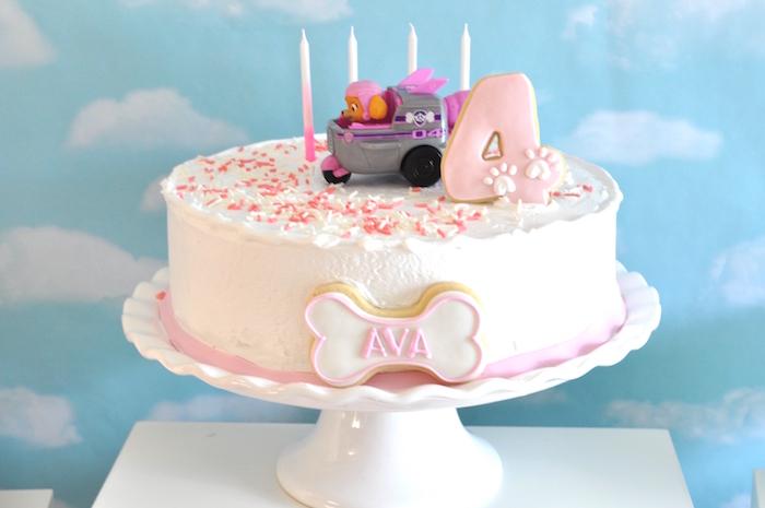 Paw Patrol Skye cake