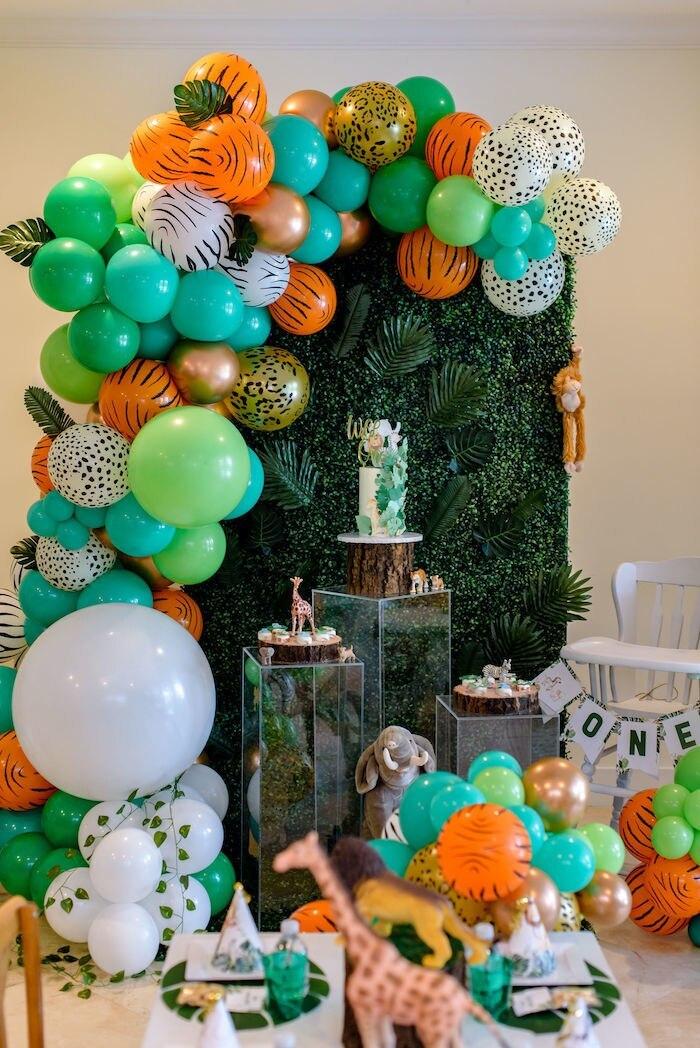 party decor Wild One birthday