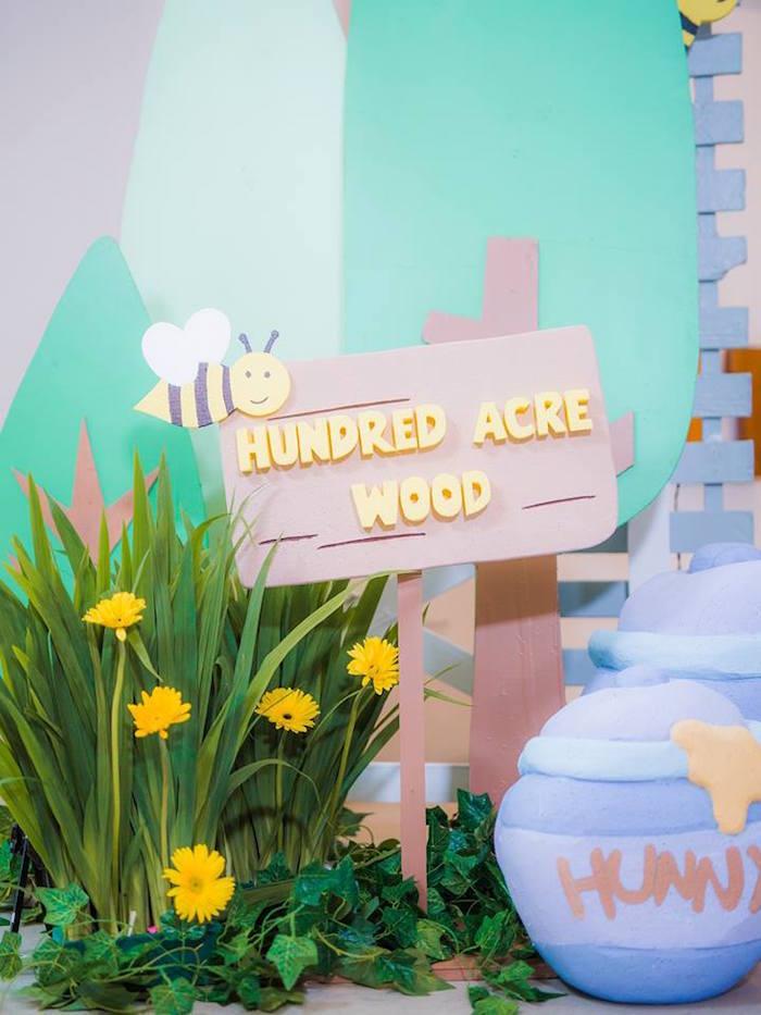 100 acre wood party decorations
