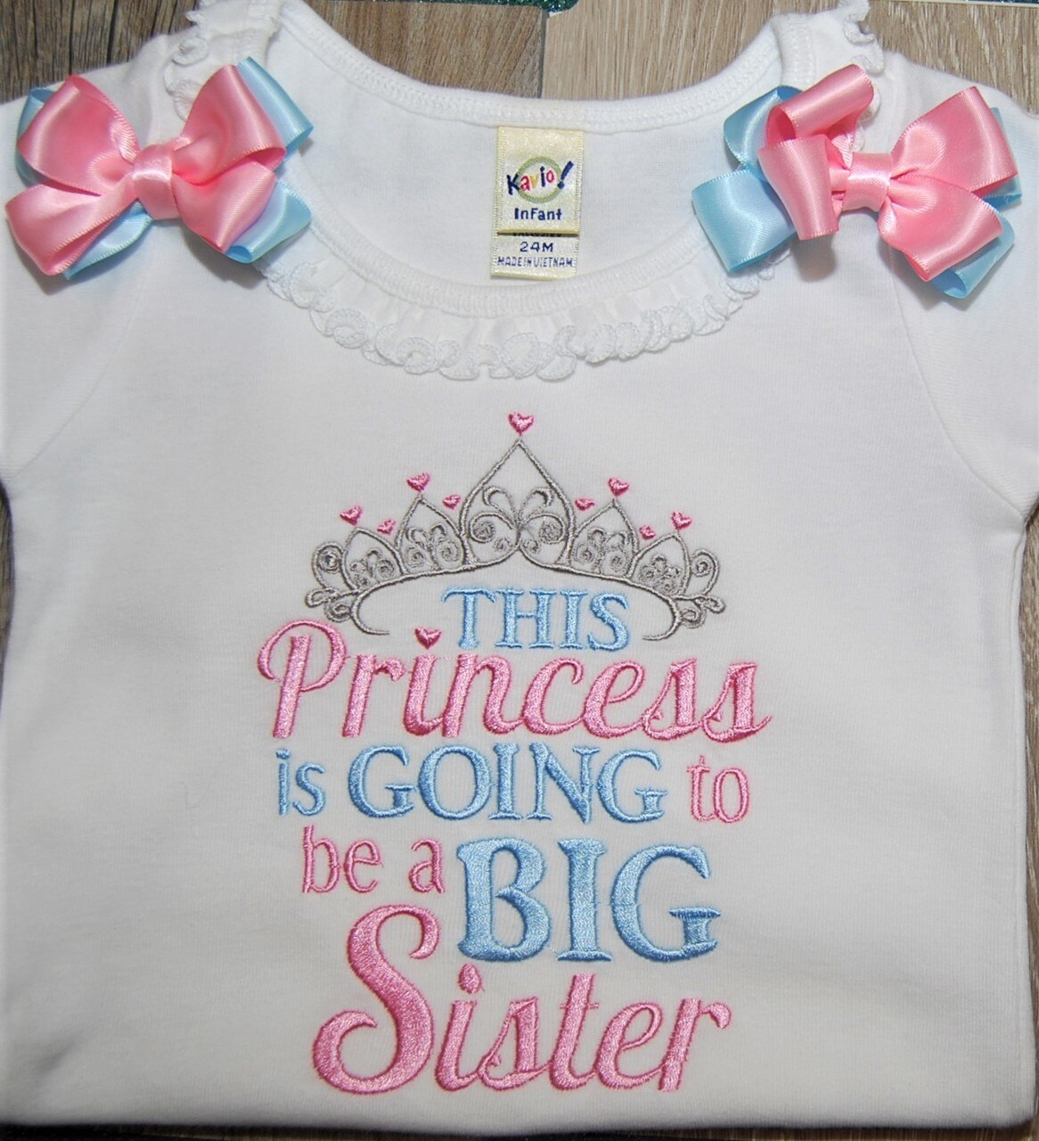 Gender Reveal- Going to be a Big Sister Shirt