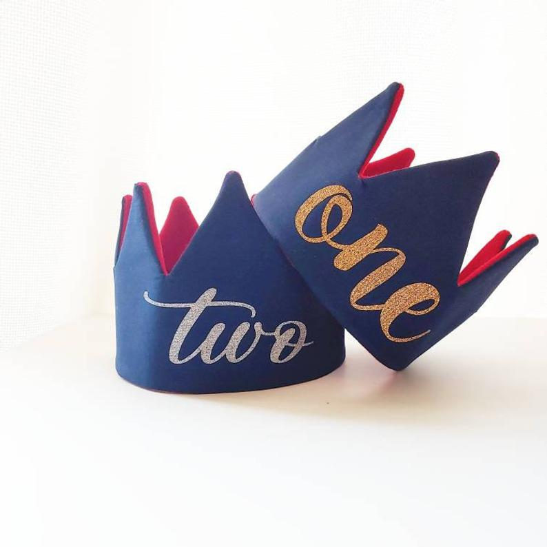 Boys crown for birthday outfit