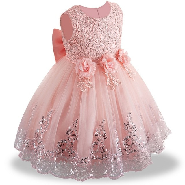 Summer Dress Baby Girl Dress,  Birthday Dress Girl Party, Princess Dress