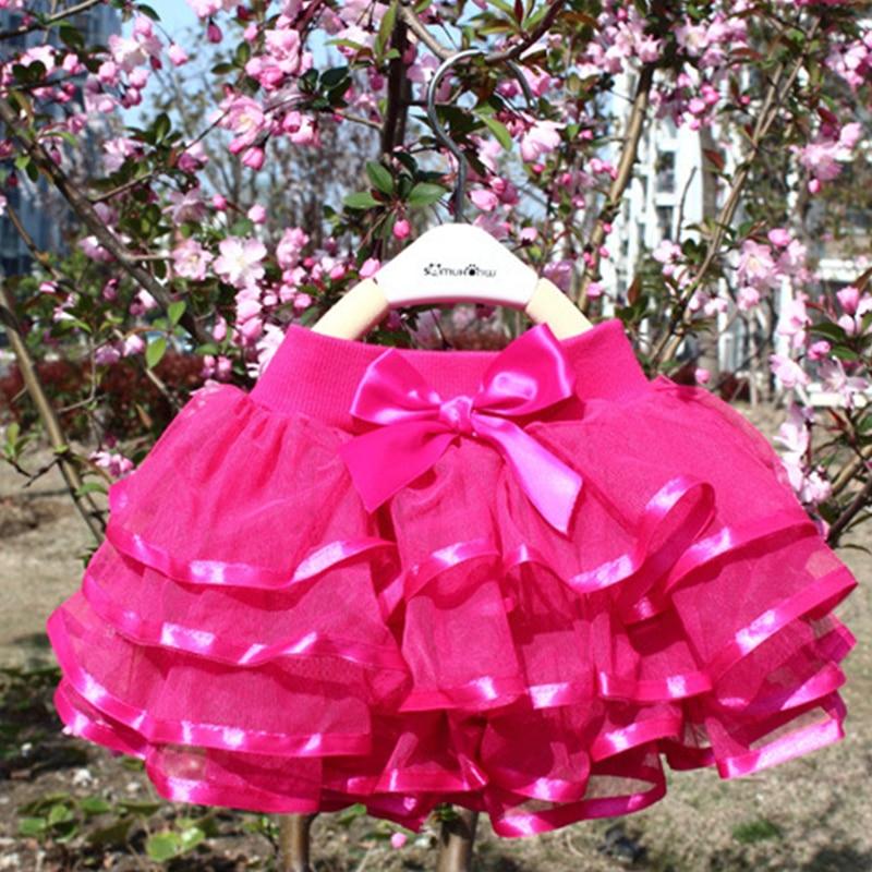Tutu Skirt Girls Cake Tutu, Pettiskirt Dance Mini Skirt Birthday Princess,  4 Layers Tulle Skirts