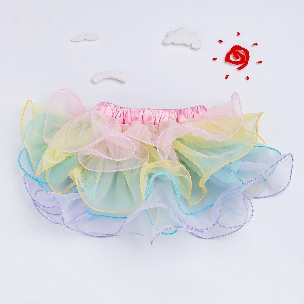 Baby Girl Chiffon Skirt Girls 2020 Tutu Dancewear Ruffles Lace Pettiskirt Pink Rose Red Purple Leopard Kids Clothes