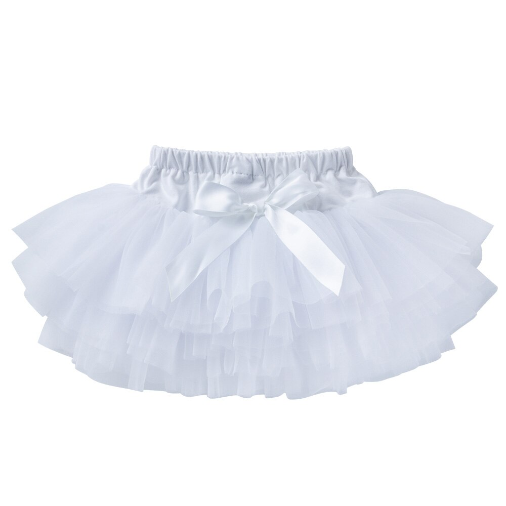 Baby Girl Tutu Skirt Tulle Lace Newborn Infant Outfits Baby Children Ballet Skirts For Party Dance Princess Girl Tulle Clothes