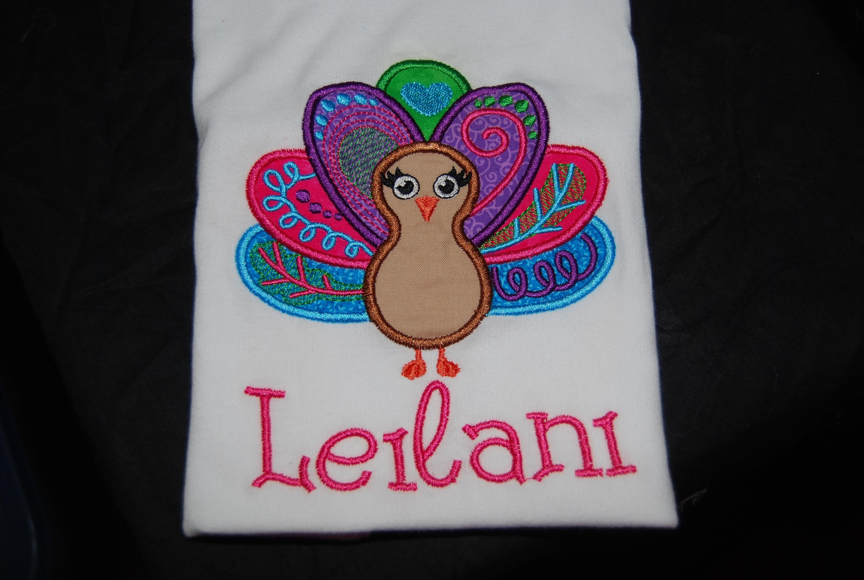 BoHo Turkey Thanksgiving Design Girl