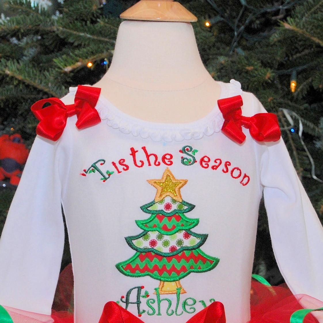 Tis the season Christmas Tree Design