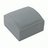 Grey Ecosuede Domed Utility Box