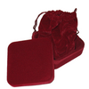 Cranberry Utility Box-Lined- with Cranberry Pouch