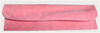 """9"""" x 2"""" Dark Pink Fold-Over Pouch"""