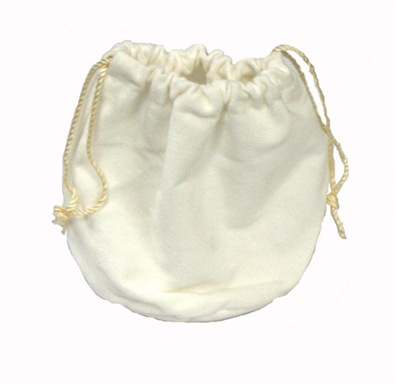 Off-White Drawstring Pouch