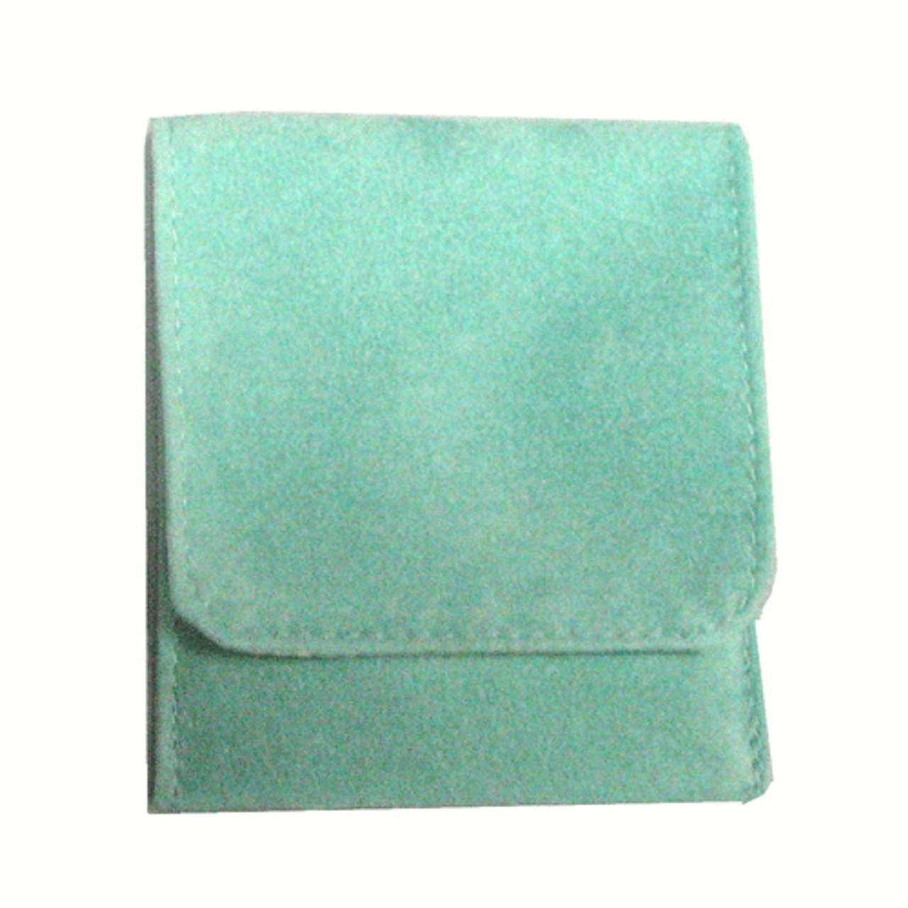"3"" x 2"" Soft Green Fold-Over Pouch"