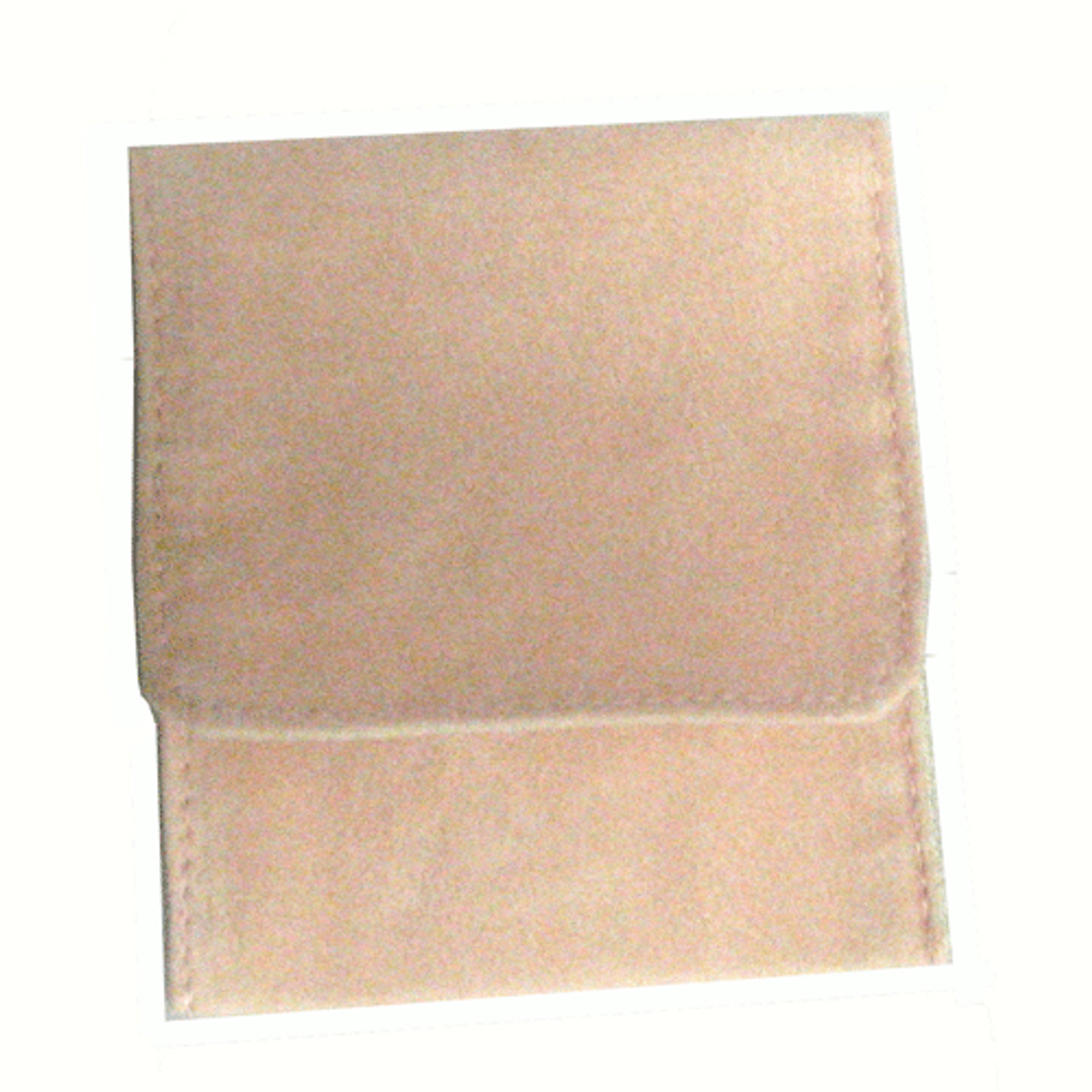 """6"""" x 6"""" Soft Pink Fold-Over Pouch"""