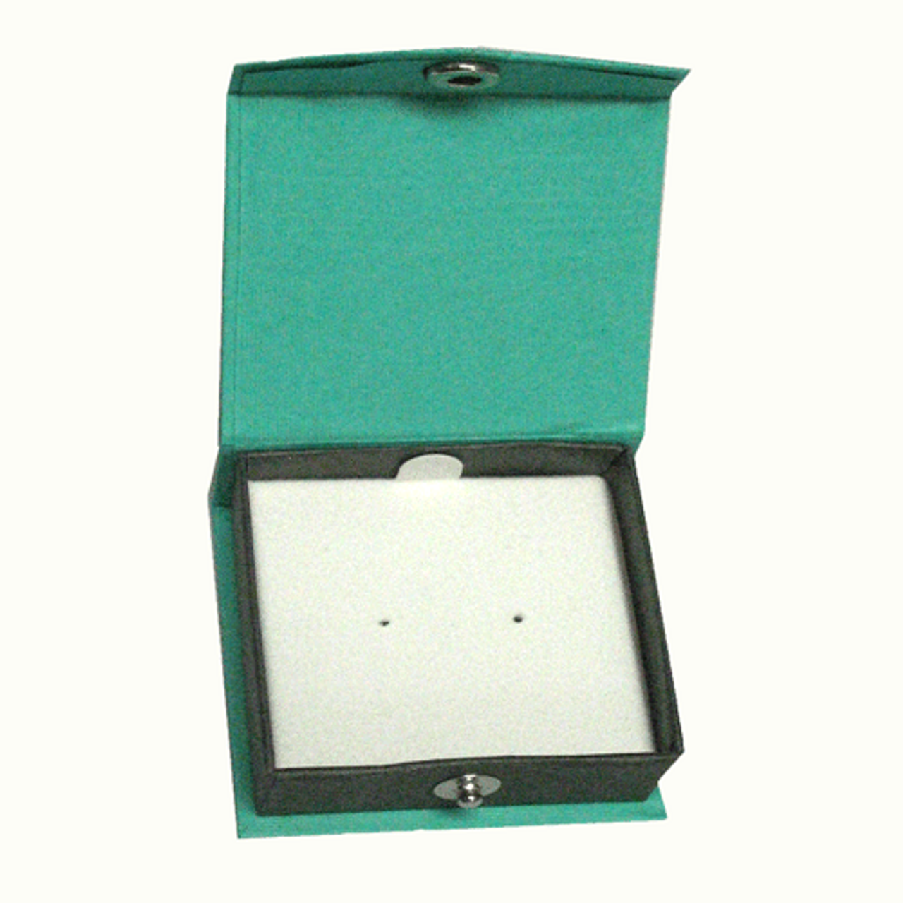 Contemporary Snap green earring box