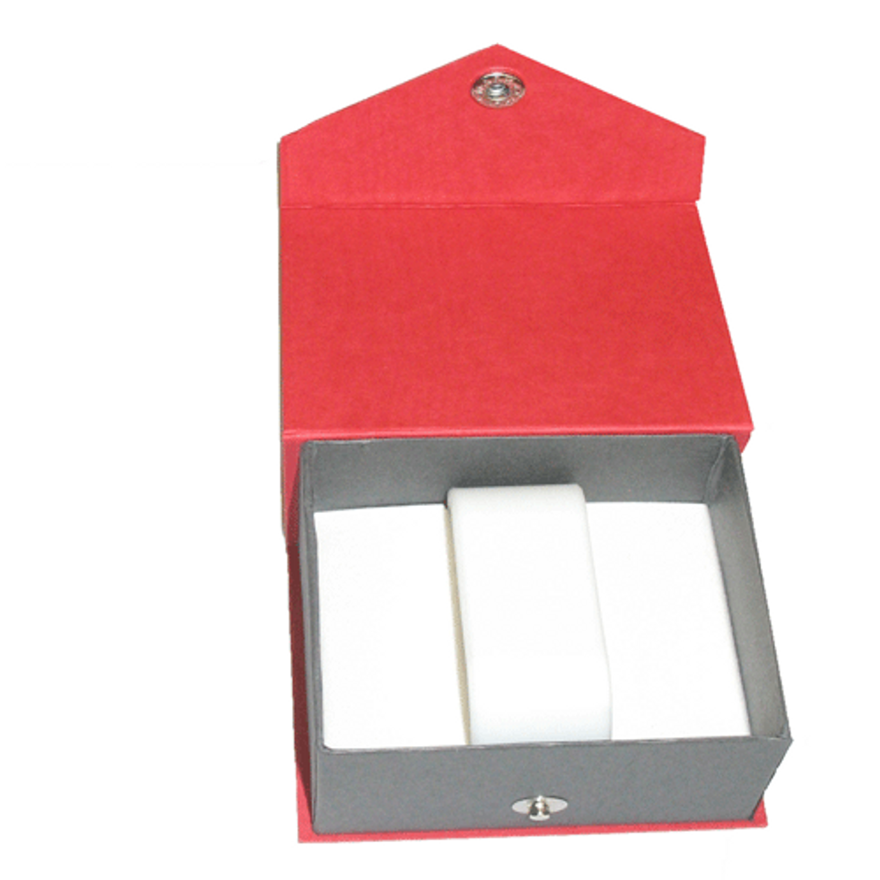 Contemporary Snap red watch/bangle box