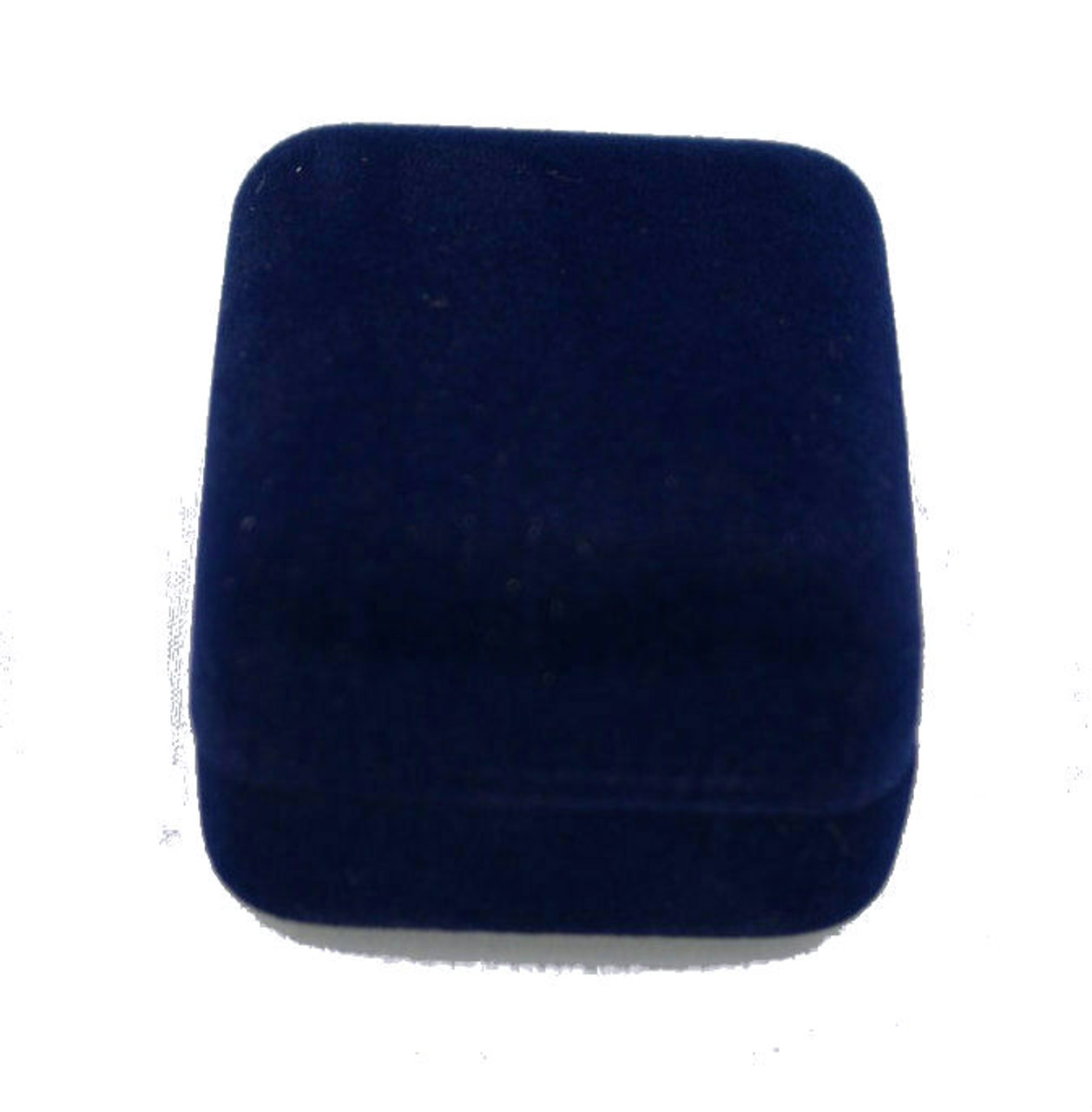 Blue Ecosuede Earring Pendent Box