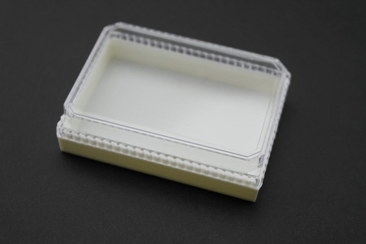 Multi Purpose Box Clear Cover/ White Base
