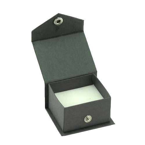 Contemporary Snap grey ring box