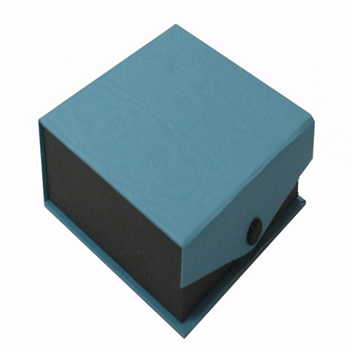 Contemporary Snap blue smaller utility box
