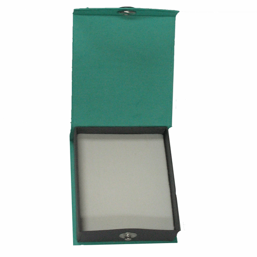 Contemporary Snap green watch/bangle box