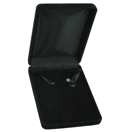 Black Ecosuede Necklace Box