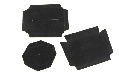 Earring Pad M24 Boxes-Black- Box sold separately