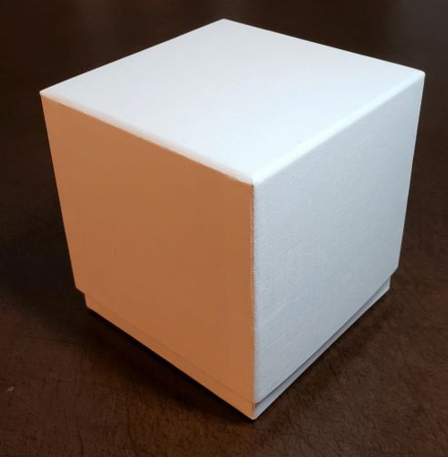 Candle Box, Deluxe- White