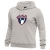 Nike Women's USAW Club Fleece Hoodie - Grey