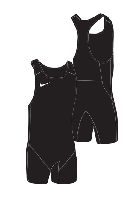 Nike Women's Weightlifting Singlet - Black / Black