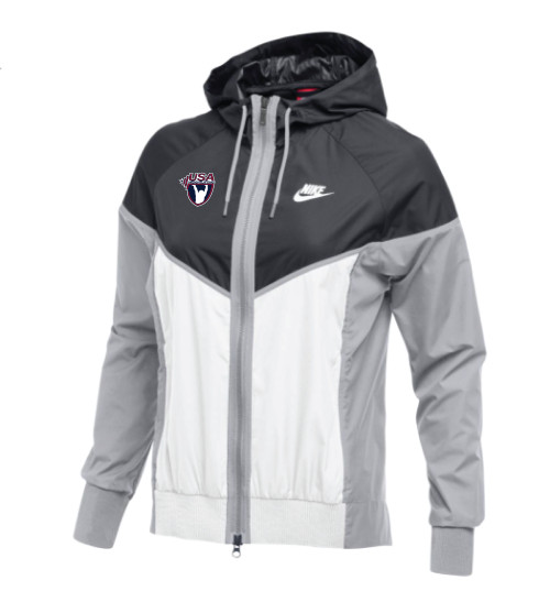 Nike Women's USAW Windrunner Jacket - Anthracite/White