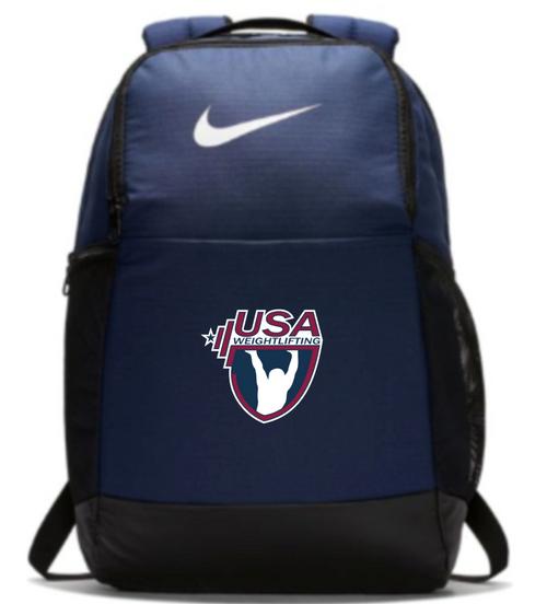 Nike USAW Brasilia Backpack - Navy