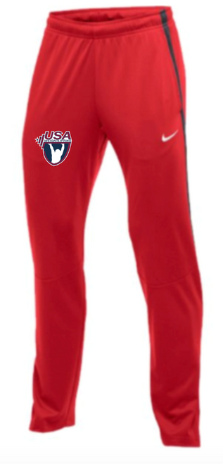 Nike Men's USAW Epic Pant - Scarlet/Anthracite
