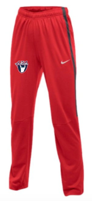Nike Women's USAW Epic Pant - Scarlet/Anthracite