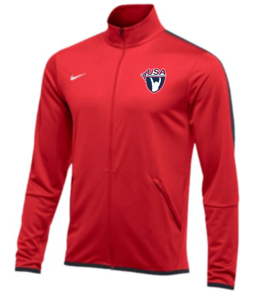 Nike Men's USAW Epic Jacket -Scarlet/Anthracite