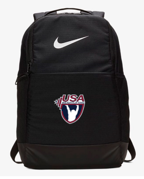 Nike USA Weightlifting Brasilia Backpack - Black