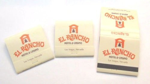 El Rancho Las Vegas Coin Cup and Stirring Stick