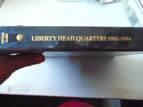Whitman Classic Coin Album # 9120 For Liberty Head Quarters From 1892-1916