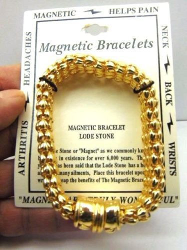 Magnetic Bracelet Lode Stone Helps Pain Circulation Not Medical Device