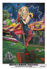 """Harleen's Midnight Rendezvous 13x19"""" Limited Edition pinup by Nicole Brune"""