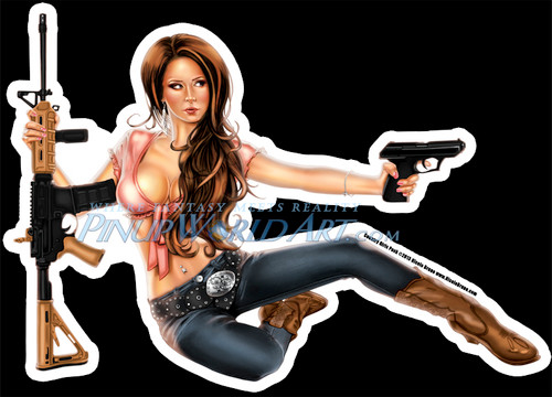 """""""Country Girls Pack"""" Sticker by Nicole Brune"""
