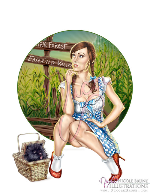 Follow the Yellow Brick Road open edition by Nicole Brune