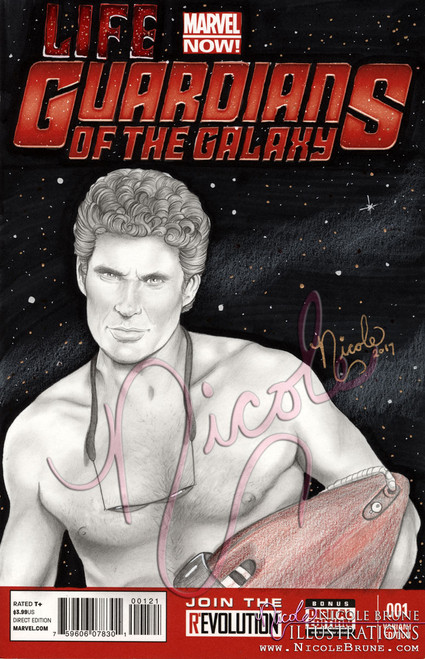 Zardu Hasselfrau - Life Guardians of the Galaxy blank comic cover by Nicole Brune