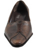 Davinci 73593 Women's Italian Mid Heel Pumps in Brown