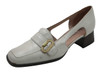Davinci 221 Women's Italian Low Heel Pumps in beige